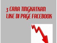 3 Cara Mendapat Banyak Like di Page Facebook