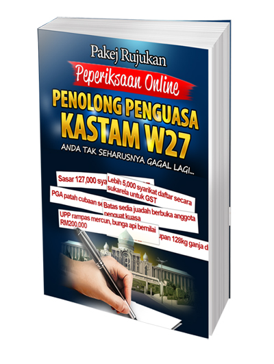 contoh soalan peperiksaan online penolong penguasa kastam gred w27