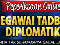 Panduan Lulus Peperiksaan Online Pegawai Tadbir Diplomatik Gred M41